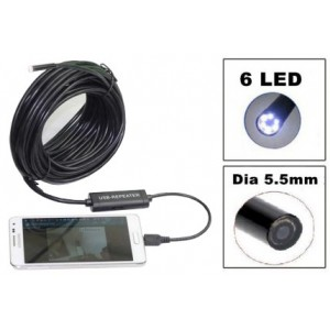 Endoscope Android 5.5mm 2mètres
