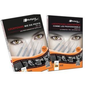 DVD LOCKPICKING CROCHETAGE COMME LES PROFESSIONNELS