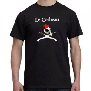 "tee shirt lockpicking ""le corbeau"""