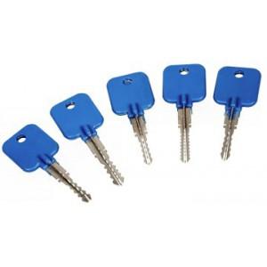 5 clés jiggler cruciformes