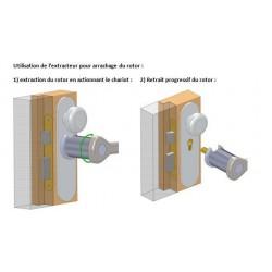 Notice d'utilisation arrache cylindre
