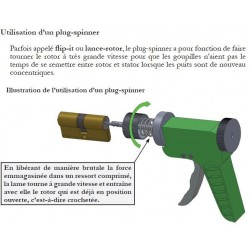 Notice d'utilisation Plug spinner, lance rotor