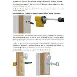 Notice d'utilisation de la clé d'entrainement lanterneau
