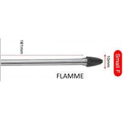 fraise carbure rapporté serie longue 160 mm  diam 10 mm FLAMME