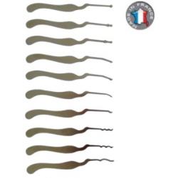 Kit de 10 outils Corbeaux par Cocolitos