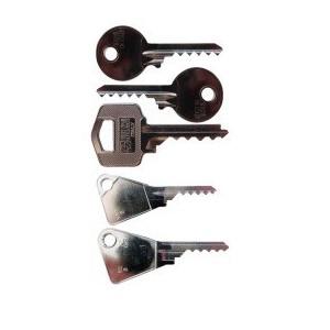 lot de 5 bumpkeys sur clés plates