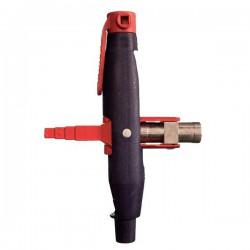 Clé de chantier forme stylo avec adaptateur porte embouts