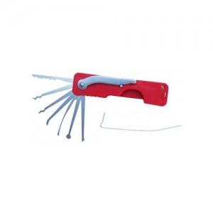 Kit de crochetage de poche ultraléger (manche plastique)