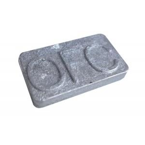 lingot de métal pour l'impression (72°C)