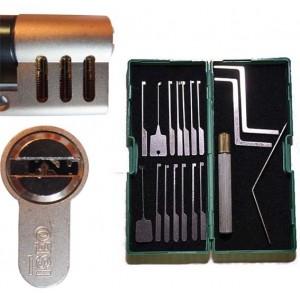 Kit d'entrainement pour serrures radiales
